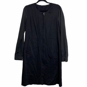 Elie Tahari Black Multi-texture Viscose Jacket